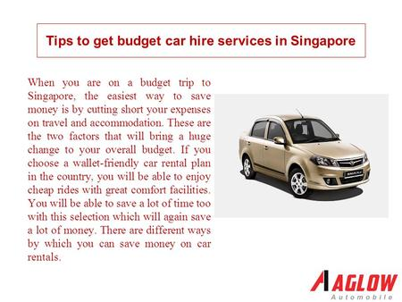 When you are on a budget trip to Singapore, the easiest way to save money is by cutting short your expenses on travel and accommodation. These are the.