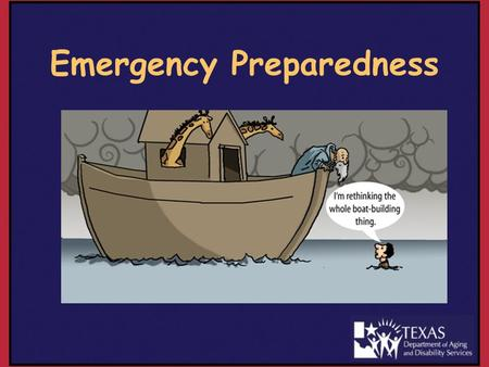 Emergency Preparedness. Proposed Emergency Preparedness Rules NFR/LMC §19.326(a) deleted and moved to §19.1914 for Emergency Preparedness Rules Places.