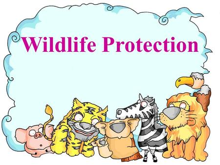 Wildlife Protection panda elephant rhino golden monkey Milu deer.