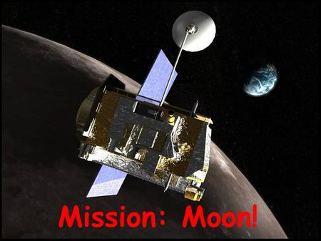 Mission: Moon!. What is it like on the Moon? Length of Day Atmosphere Temperature Water Radiation Gravity Landscape.