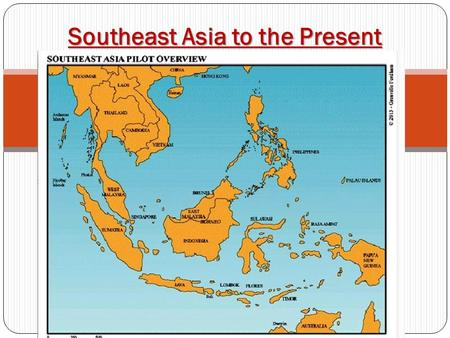 Southeast Asia to the Present. Wealth vs. Poverty Thailand and Malaysia have prospered because of trade. Myanmar has remained one of the world's poorest.