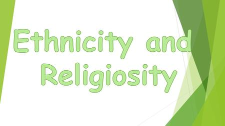  The UK today is a multi-ethnic, multi-religious society and the biggest religious group are Christians – many Christians are of black African or Caribbean.