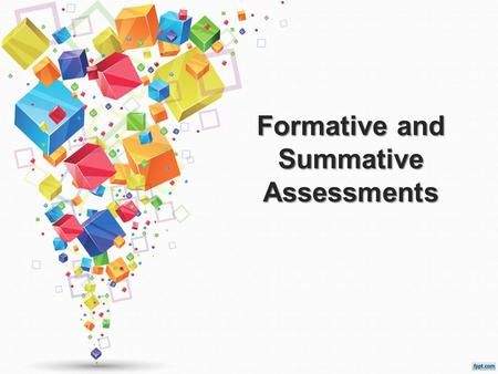 Formative and Summative Assessments. Objective Staff will be able to increase student engagement by utilizing a variety of formative assessments.