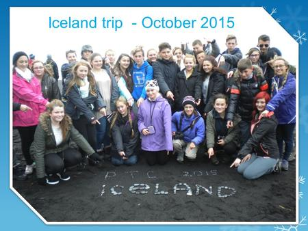 Iceland trip - October 2015. Feeling weary but excited at the airport.