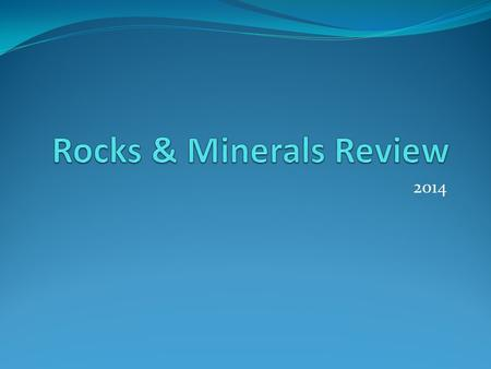 2014. A mineral is a naturally formed, inorganic solid that has a definite crystalline structure.