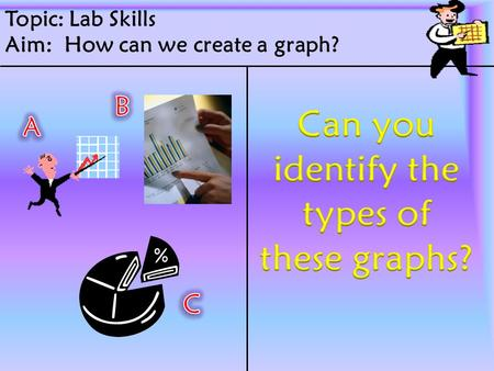 Topic: Lab Skills Aim: How can we create a graph?.