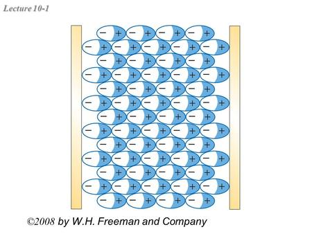Lecture 10-1 ©2008 by W.H. Freeman and Company. Lecture 10-2 Capacitor Examples 2C2C C C C/2 CCCC C ?C?C ?=2/3.