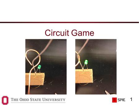1 Circuit Game. 2 How does it work? When electricity flows through an LED (light-emitting diode), the LED lights up We need a battery, an LEDs, some wire,