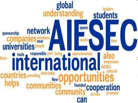 Global Internship Program (G.I.P) What is Global Internship Program? The Global Internship Program is the most intense learning experience that AIESEC.