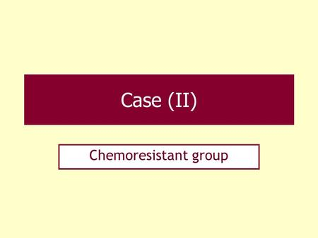 Case (II) Chemoresistant group. Case 6. F/41 Rt. breast cancer, 3 cycle NAC for 2 months (a) Indistinct margined, irregular shaped, hyperdense mass in.