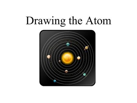 Drawing the Atom. Bohr's model These shells have size limits and each shell can only have a certain amount of electrons in it. Looks like the sun (nucleus)