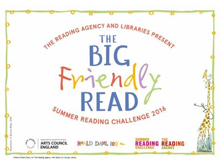 Photos © Dale Cherry for The Reading Agency with thanks to Crawley Library.