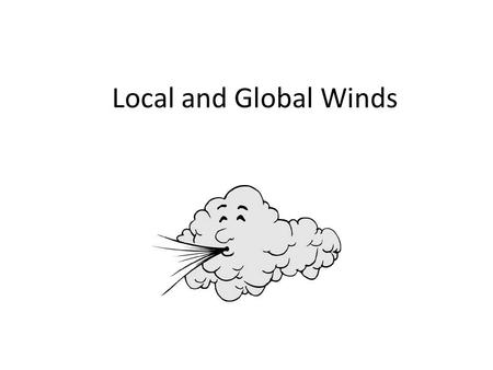 Local and Global Winds. Wind Wind is created by the unequal warming of the Earth (convection currents) Differences in atmospheric pressure cause the movement.