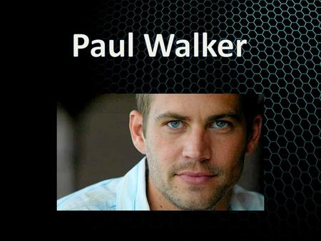 Who His full name Paul William Walker IV. Paul walker was an actor. He was born on September 12,1973 in Glendale, California, U.S.