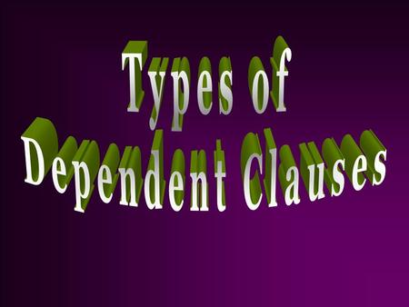  An adjective clause is a dependent clause that is used as an adjective.  Adjective clauses usually begin with a relative pronoun: who, whom, whose,