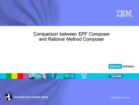 Comparison between EPF Composer and Rational Method Composer