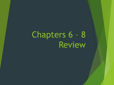 Chapters 6 – 8 Review. French and Indian War  1754: Albany Plan of Union  1754 – 1763: 7 Years War  1763: 4 HUGE EVENTS!  End of French and Indian.
