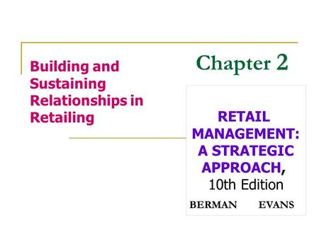 strategic planning in retailing Guidelines for planning authorities retail planning  retailing and spatial planning 19  in identifying strategic requirements • planning for retail.