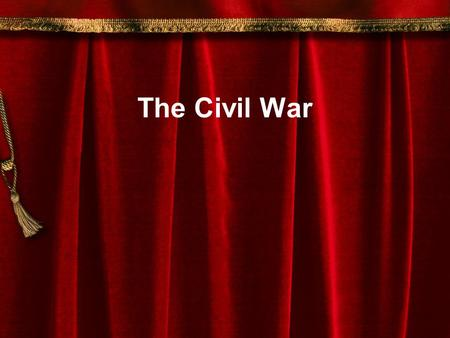 The Civil War Warm Up How might a civil war be worse than other wars? How would your life be affected if Philadelphia went into a civil war? What are.