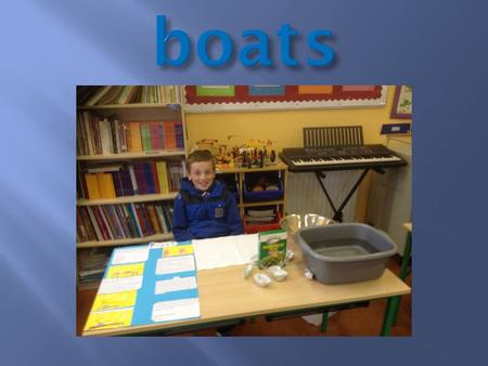 Design a boat that can hold the maximum number of passengers using the given materials.