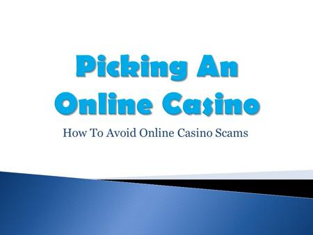 How To Avoid Online Casino Scams. Kahnawake Licenses The Kahnawake Gaming Commission is based in the Mohawk territory of Kahnawake, Canada. It issues.