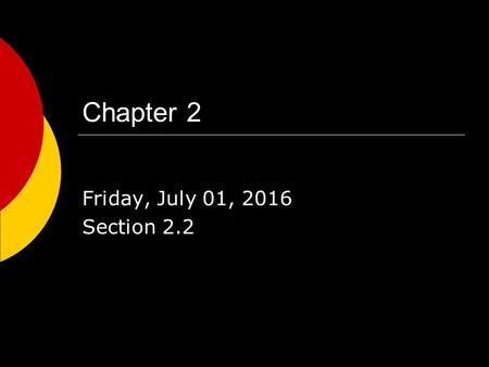 Chapter 2 Friday, July 01, 2016 Section 2.2. Crimes against People  Murder – intentional killing of another person.  Manslaughter – unintentional Voluntary.