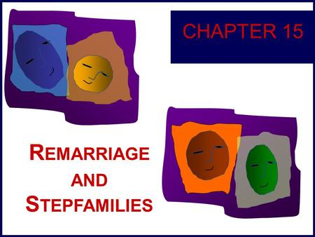 R EMARRIAGE AND S TEPFAMILIES CHAPTER 15. 15-2 Types and Number of Remarriages and Stepfamilies Types of Remarried Couples Demographics of Remarriage.