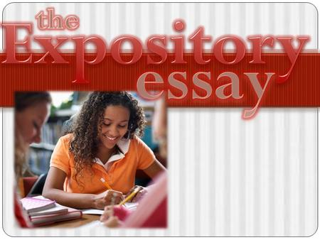 Set the next available page in your notes section in the following format: Expository Writing Definition: (Use 3 lines for this section) Step 1: Prompt.