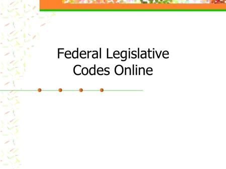 Federal Legislative Codes Online. In Westlaw Retrieve this citation: title 21 of the U.S. Code, section 21. What is the section title?...