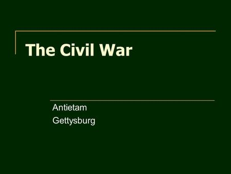 The Civil War Antietam Gettysburg. What does Secession mean? What was Fort Sumter? Who took control of it? Who was the confederate commander at the Battle.