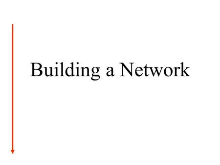 Building a Network. Introduction A local company has hired you as a network administrator. Your first assignment is to setup the local network and make.