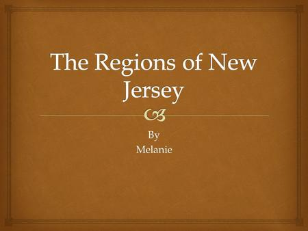 ByMelanie.   It covers the North West corner of New Jersey  It is where the whole of New Jersey gets its dairy products  This region is the owner.
