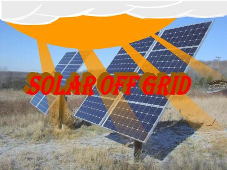 Medors.in DESCRIPTION Off-grid refers to not being connected to a grid generally National grid Off-the-grid homes are autonomous, they do not rely on.