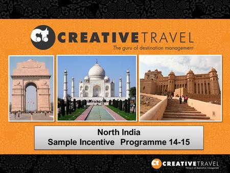 North India Sample Incentive Programme 14-15 North India Sample Incentive Programme 14-15.