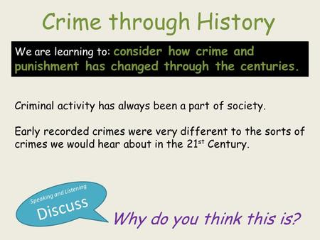 crime and punishment revision guide