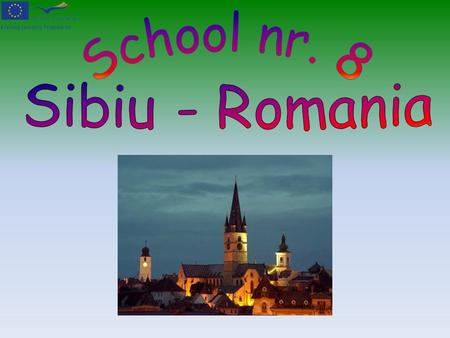 Sibiu, a small medieval town in the center of Romania.