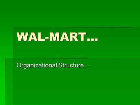 a description of wal mart success which was started by sam walton The history of walmart, an american discount department store chain, began in 1950 when businessman sam walton purchased a store from luther e harrison in.