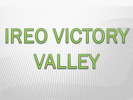 Ireo victory valleyIreo victory valley is a new residential destination embellishing the address of Sector 67, Gurgaon. The individuals seeking an excellent.