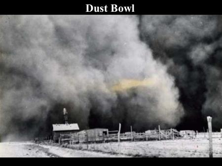 what caused the dust bowl In the 1930's many people were devastated by vast dust storms many people suffered from them in kansas, colorado, new mexico, oklahoma, and texas and some people.