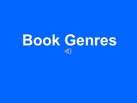 "Book Genres What is a genre? A genre is a classification used to sort books into different categories. It comes from the French word meaning ""kind""."