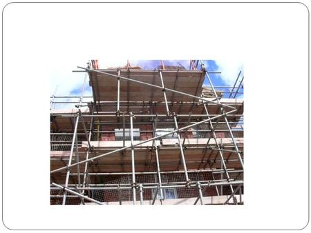Scaffolding Scaffolding Learning «What learners can do today with support, they can do alone tomorrow» Vygotsky.