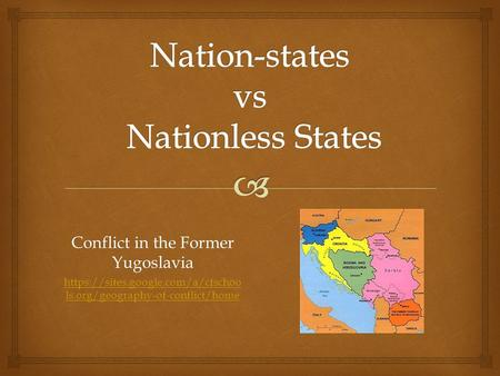 Nation-states vs Nationless States