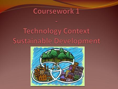 Sustainable Development combines the use of resources while preserving the environment, not only taking in concern the present but also thinking about.