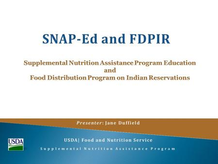  The Supplemental Nutrition Assistance Program (SNAP) is the largest program in America's hunger safety net.  SNAP-Ed is the nutrition education and.
