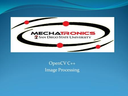 OpenCV C++ Image Processing