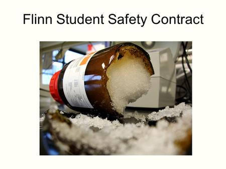 Flinn Student Safety Contract