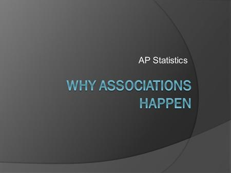 AP Statistics. Issues Interpreting Correlation and Regression  Limitations for r, r 2, and LSRL :  Can only be used to describe linear relationships.