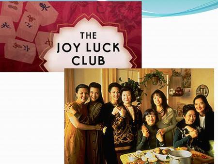 critical essays on the joy luck club
