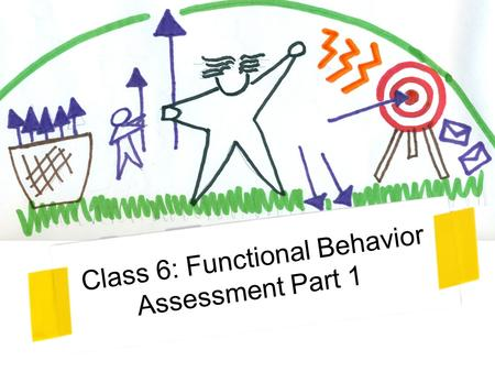 Class 6: Functional Behavior Assessment Part 1. You've got to have something to eat and a little love in your life before you can sit still for anybody's.