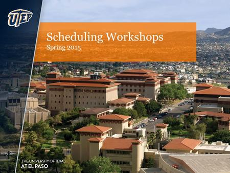 Scheduling Workshops Spring 2015. Welcome to Goldmine Scheduling User-friendly Error-checks – ensures all required fields are populated Cross-listing.